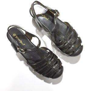 00e380885f7f Nature Breeze Shoes - Glitter Jelly Platform Sandals